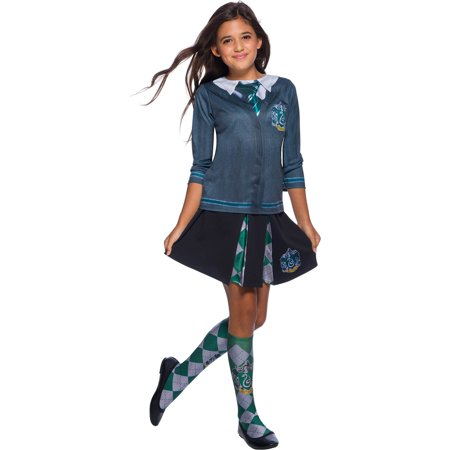 The Wizarding World Of Harry Potter Child Slytherin Costume Top