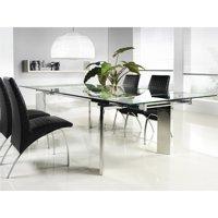 Euphoria Dining Table - Chrome Legs