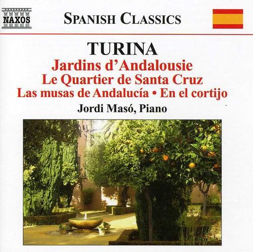 J. Turina - Joaqu N Turina: Jardins D'Andalousie; Le Quartier De Santa Cruz; Las Musas De Andalucia; En El Cortijo [CD]