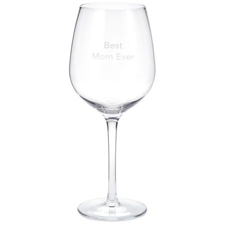 Hallmark Best Mom Ever Wine Glass, 20 oz. (Best Italian Wine Brands)