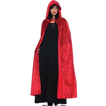 55 Hooded Cloak (Red)