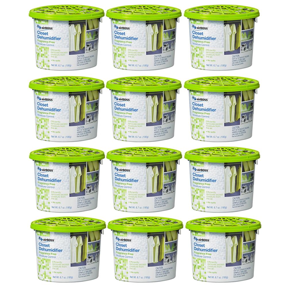12 Lot Moisture Absorber Room Dehumidifier 6.7oz Odor Eliminator Closet Basement by 4SGM