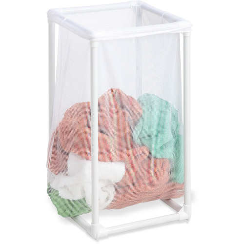 Honey-Can-Do 1-Bag Mesh Laundry Hamper