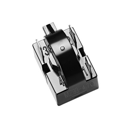 4.7 Ohm 3 Pin Refrigerator PTC Starter Relay Black - image 2 of 4