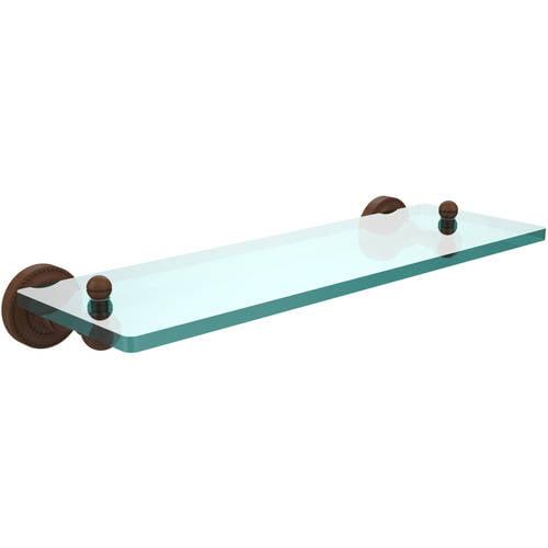 "Dottingham Collection 16"" Single Glass Shelf (Build to Order)"