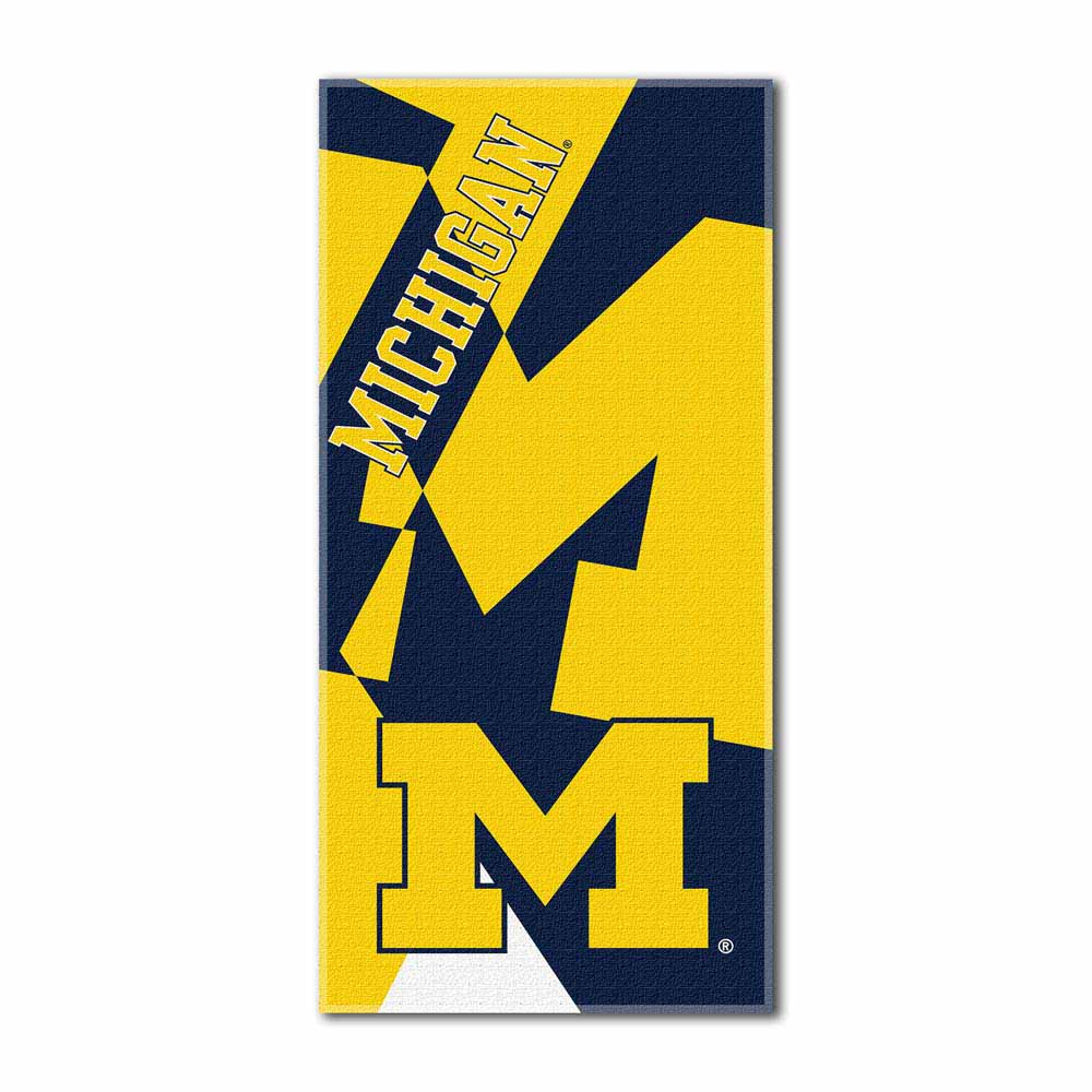 Michigan Puzzle Oversized Beach Towel