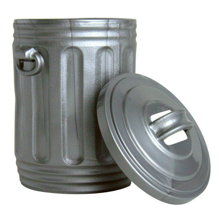 Silver Trash Can for WWE Wrestling Action Figures - Wwe Trish