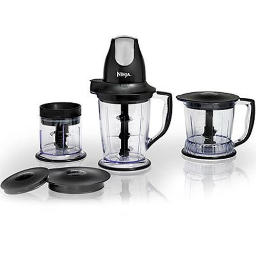 Ninja Master Prep Professional System - Chopper, Blender & Food Processor - QB1004 (Certified Refurbished)