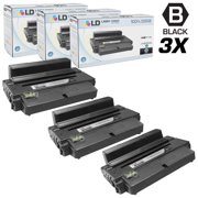 LD Products Compatible Samsung MLT-D205L Set of 3 High Yie Black Toner Cartridges for Samsung ML and SCX Series