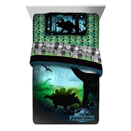 Star Rocket Twin Comforter - Jurassic World