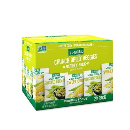Product Of Sensible Foods Crunch Dried Veggies Variety Pack (0.54 Oz., 20 Ct.) - For Vending Machine, Schools , parties, Retail - Dried Veggies