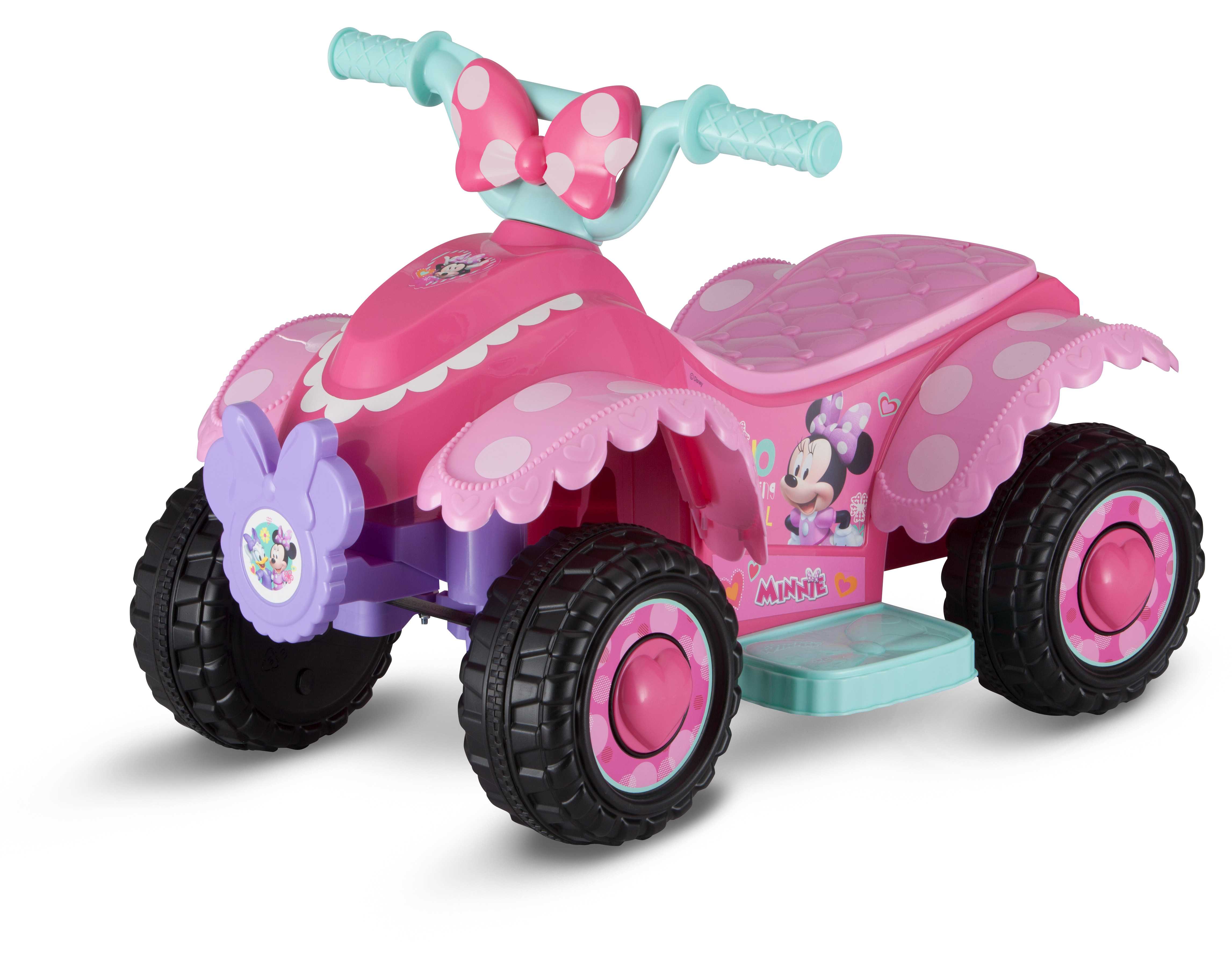 Disney Minnie Mouse Happy Helpers 6V Battery Powered Ride-On Quad (Styles May Vary) by Pacific Cycle