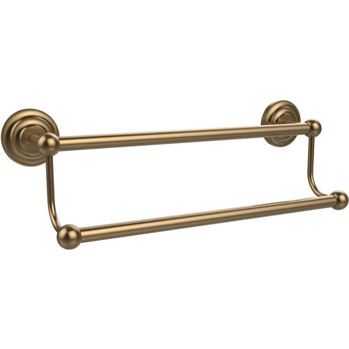 """Prestige Que New Collection 18"""" Double Towel Bar (Build to Order)"""