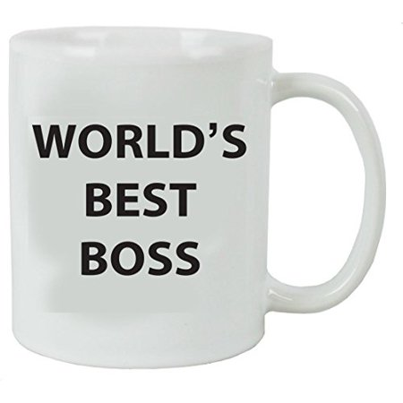 World\'s Best Boss Coffee Mug with Gift Box - Great Gift for Bosses ...
