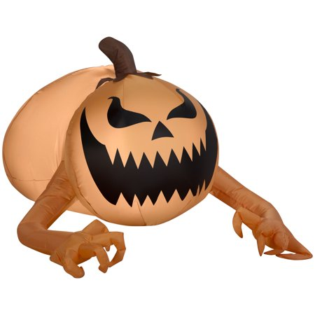 Airblown Inflatable-Pumpkin Monster by Gemmy Industries - Monsters University Halloween Inflatable