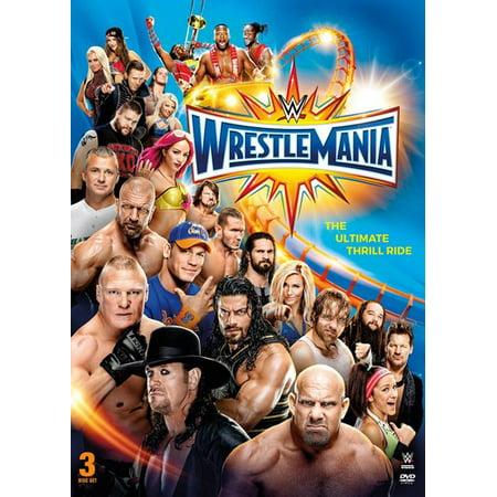 WWE: WrestleMania 33 (DVD)