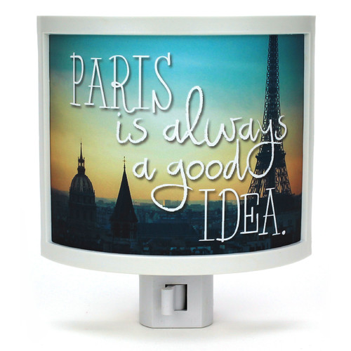 Common Rebels Paris is Always a Good Idea Night Light
