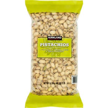Kirkland Signature California In-Shell Pistachios, Roasted & Salted, 3 lbs