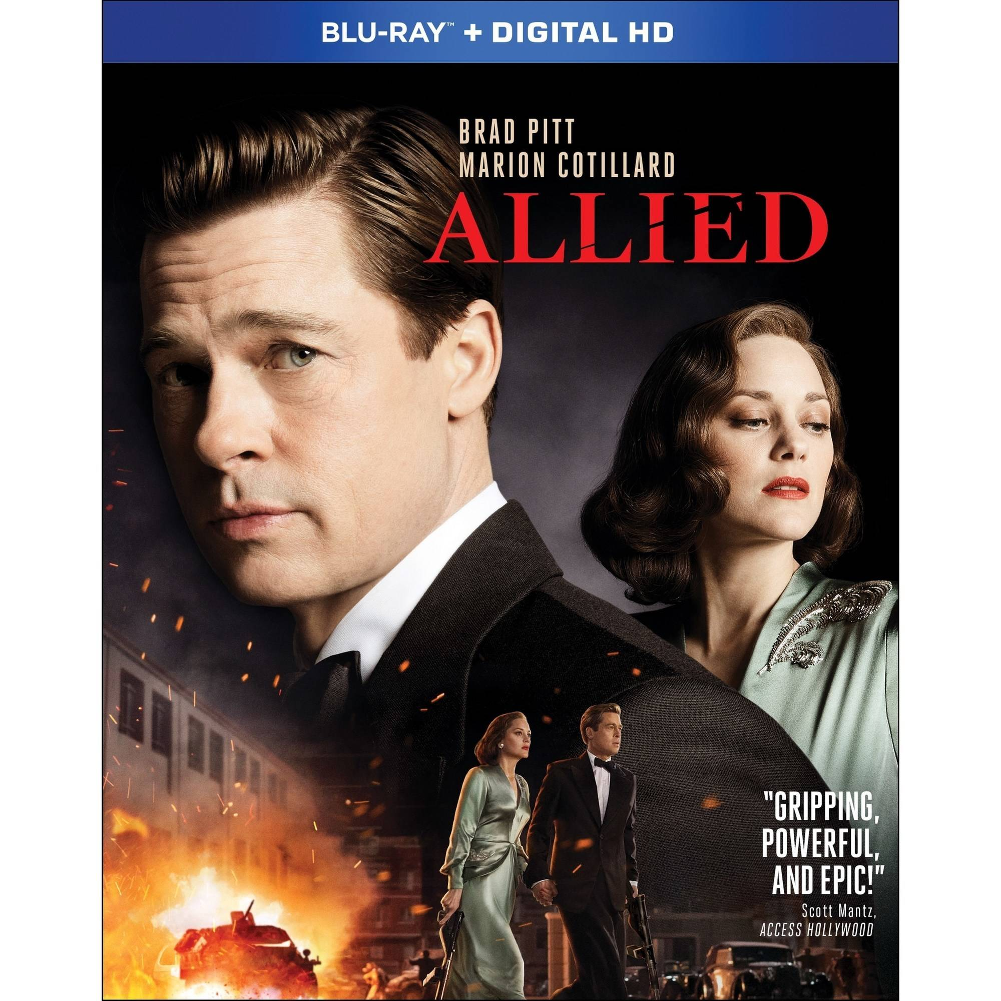 Allied (Blu-ray) (Walmart Exclusive) (With INSTAWATCH) by