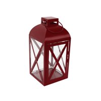 Mainstays Medium Galvanized Metal Candle Holder Lantern