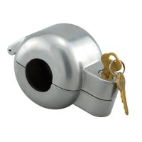 Door Knob Lock-Out Device, Diecast Construction, Gray Painted Color, Keyed Alike