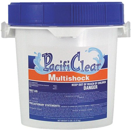 Water Techniques F135005040PC Multishock - 5 lbs Pail 56 Percent Dichlor - image 1 of 1