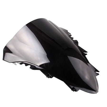 GZYF Smoke Windshield Windscreen for Motorcycle Fits Yamaha YZF R1 2007 2008 ABS Plastic (Motorcycle Windshield For Yamaha)