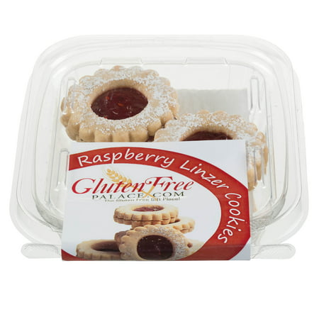Gluten Free Palace Linzer Cookies With Raspberry Jam, 2 Oz, Gluten Free Cookies, Dairy Free, Nut Free & Kosher (Pack of 12)](Non Dairy Halloween Treats)