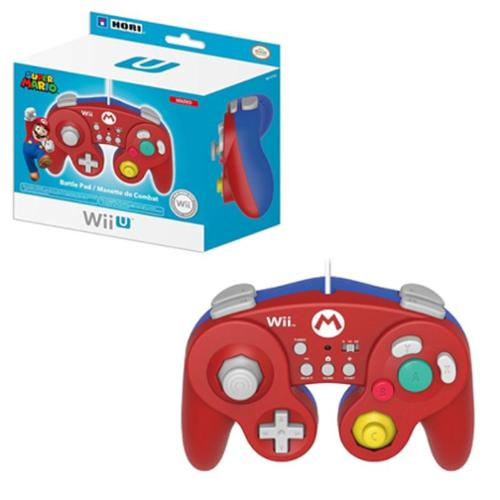 Mario Classic Controller Wired Controller For Nintendo Wii/Wii U
