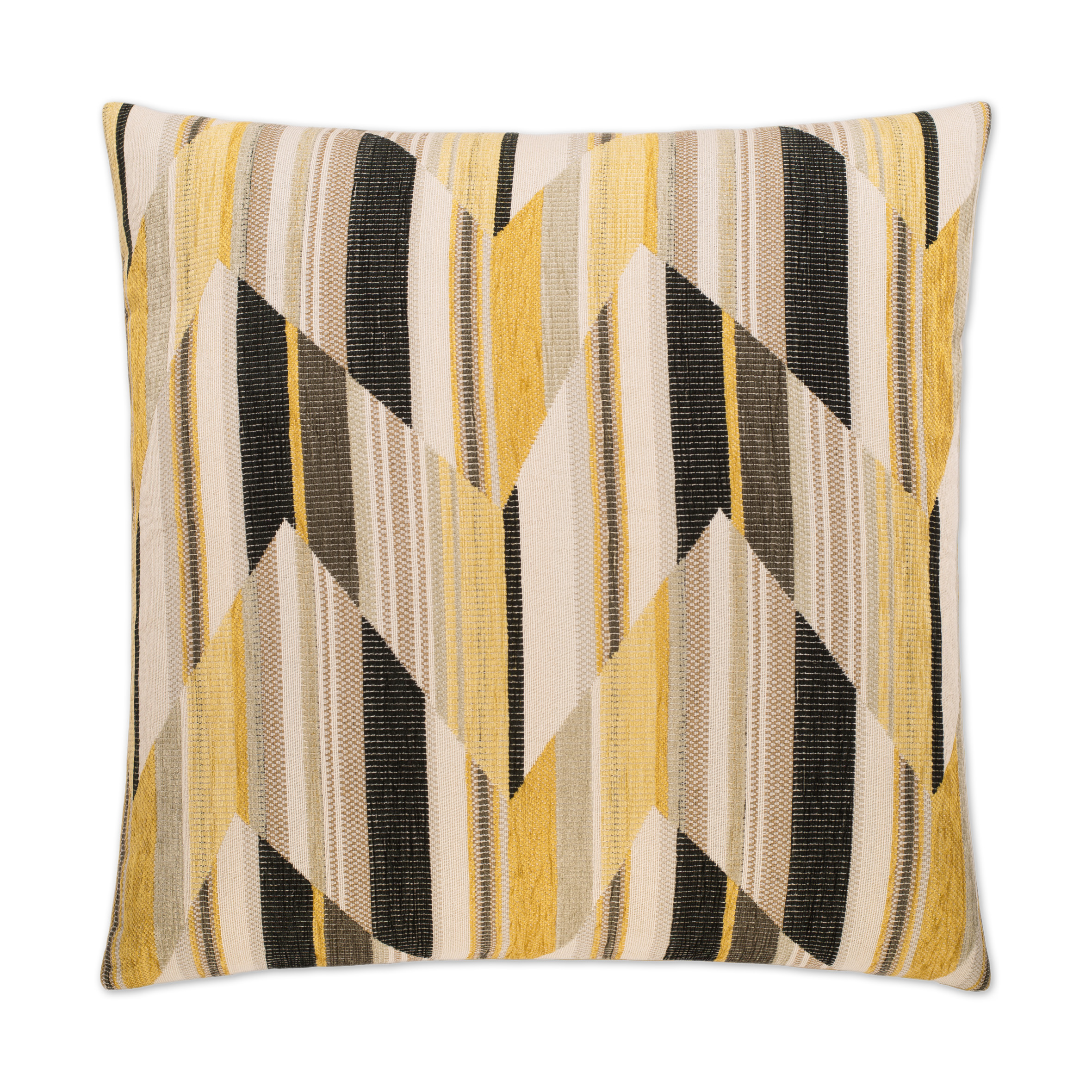 Canaan Company Boomerang Yellow Accent Pillow 2343-Y by Canaan