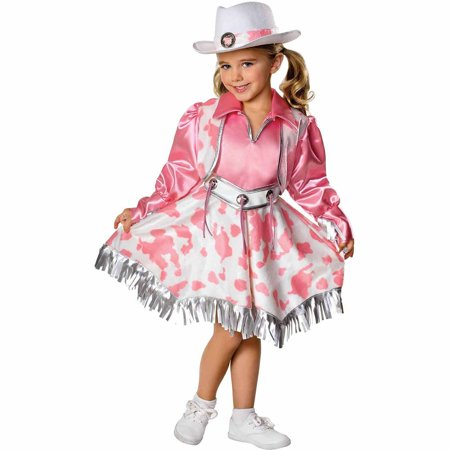 Western Diva Child Halloween Costume - Western Barmaid Costume