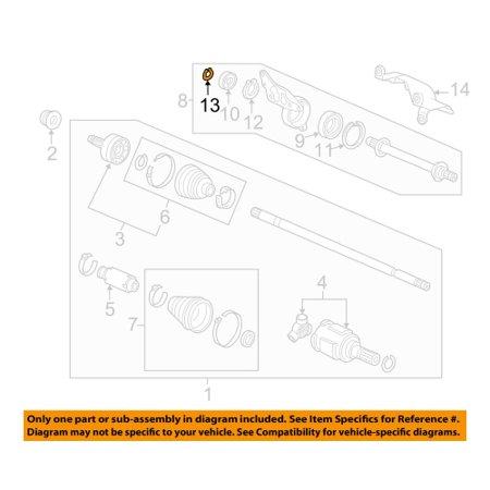 Honda Axle Shaft Set Ring -