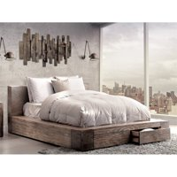 Furniture of America Elbert California King Storage Platform Bed
