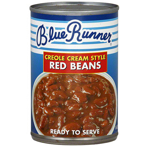 Blue Runner Creole Cream Style Red Beans, 16 oz (Pack of 12)