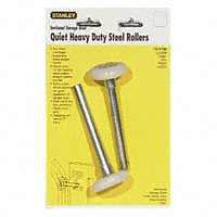 Stanley 730790 Heavy Duty Double Track Door Roller, 1-13/16 in Dia x 7/16 in W, Nylon