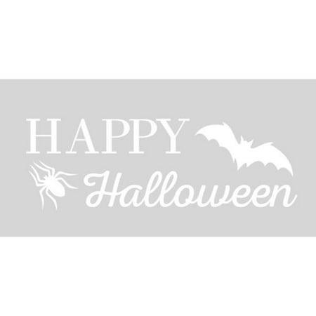 Halloween 07 Quotes (KABOER Happy Halloween Spiders Bat Wall Decals Halloween Party Home Sticker Quote)