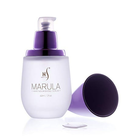 Herstyler Marula Oil Hair Serum with Aloe Vera and Vitamin E for Frizzy and Curly
