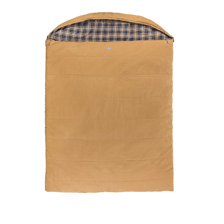 Kamp-Rite Overnighter 2 Person Sleeping Bag Canvas by Kamp-Rite