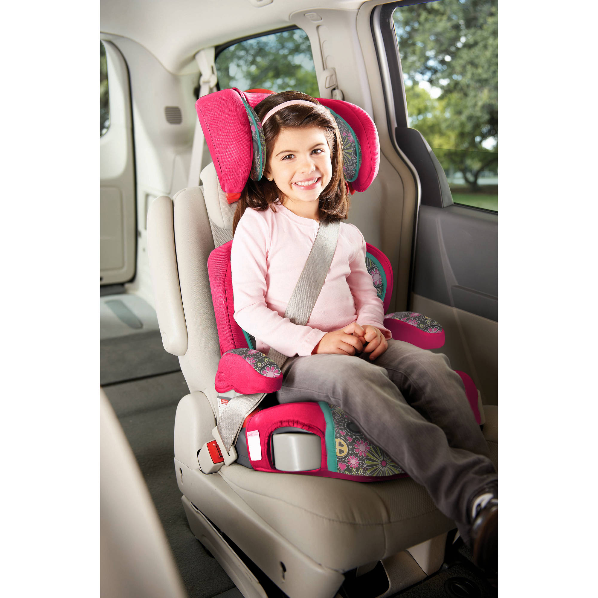 Graco TurboBooster High Back Booster Car Seat Ladessa