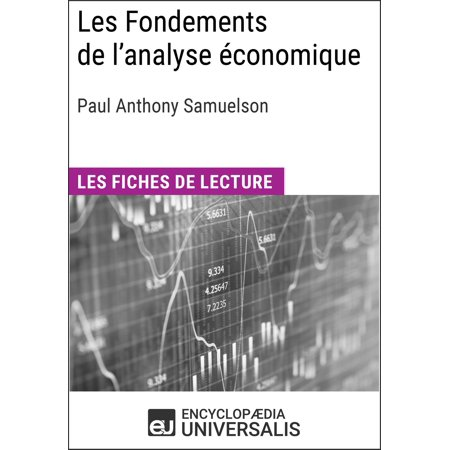 Les Fondements de l'analyse économique de Paul Anthony Samuelson - (Growth Definition Of Economics By Paul Samuelson)