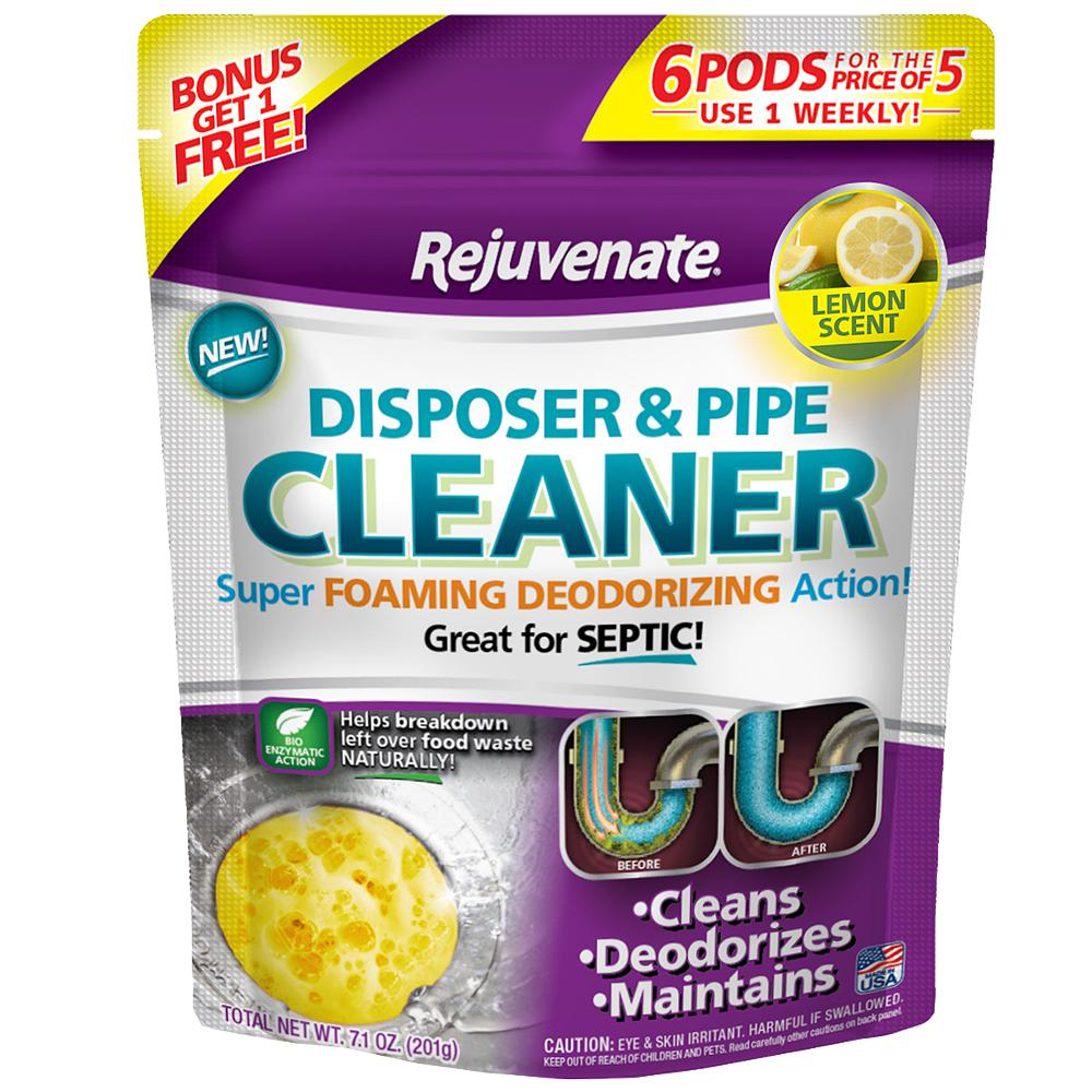 For Life Products Rejuvenate Disposer & Pipe Cleaner - Lemon