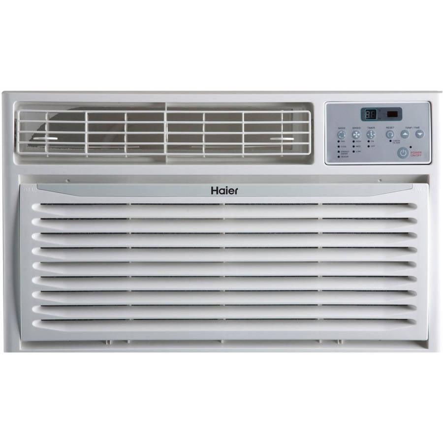 Haier 10,000 BTU Through-The-Wall Air Conditioner, White, HTWR10XCR