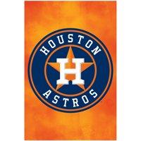 Houston Astros Team Logo MLB Baseball Sports Poster 22x34