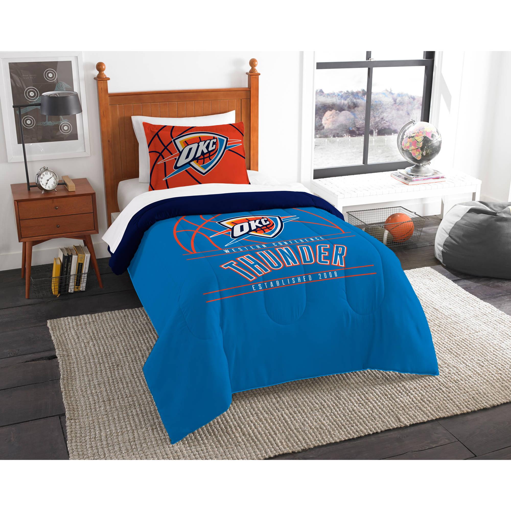 "NBA Oklahoma City Thunder ""Reverse Slam"" Bedding Comforter Set"