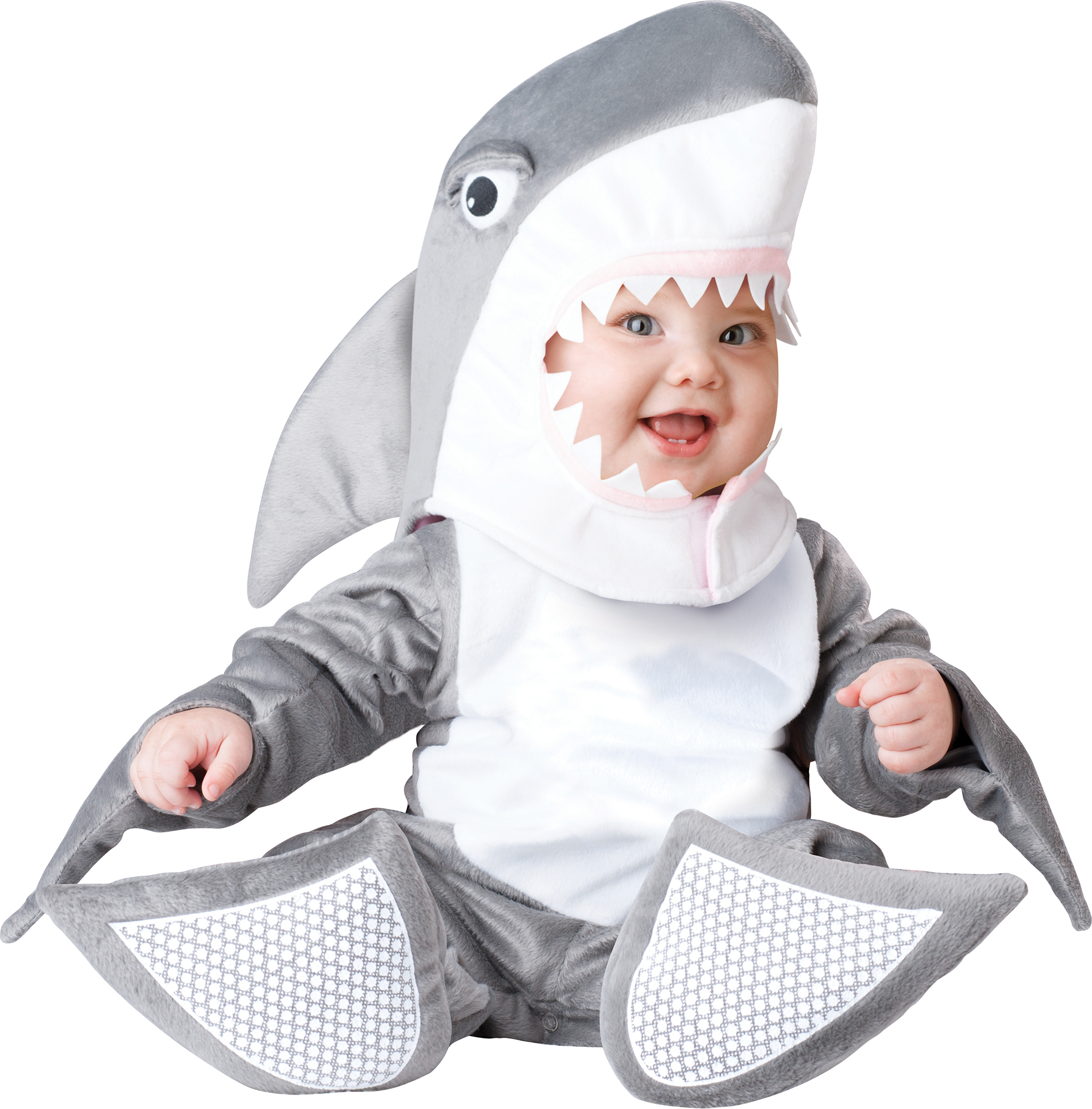 Halloween Lil Shark infant Costume Size 12-18Months by Fun World