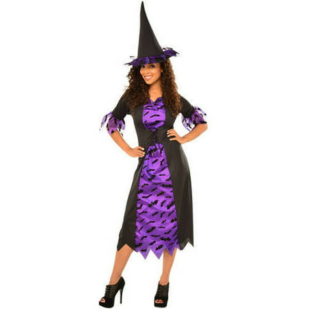 Purple Witch Adult Halloween Costume](Halloween Costumes Of Witches)