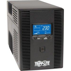 Upos Usb (Tripp Lite SMX1500LCDT SmartPro 230V 1.5kVA 900W Line Interactive UPS, 2U Rack/Tower, LCD, USB, DB9, 8 Outlets)