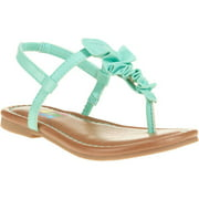 Girls' Toddler Ruffle Toe Sandal