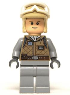 ORIGINAL LEGO STAR WARS Plastic Blister HOTH REBEL OFFICER 8083 Minifigure