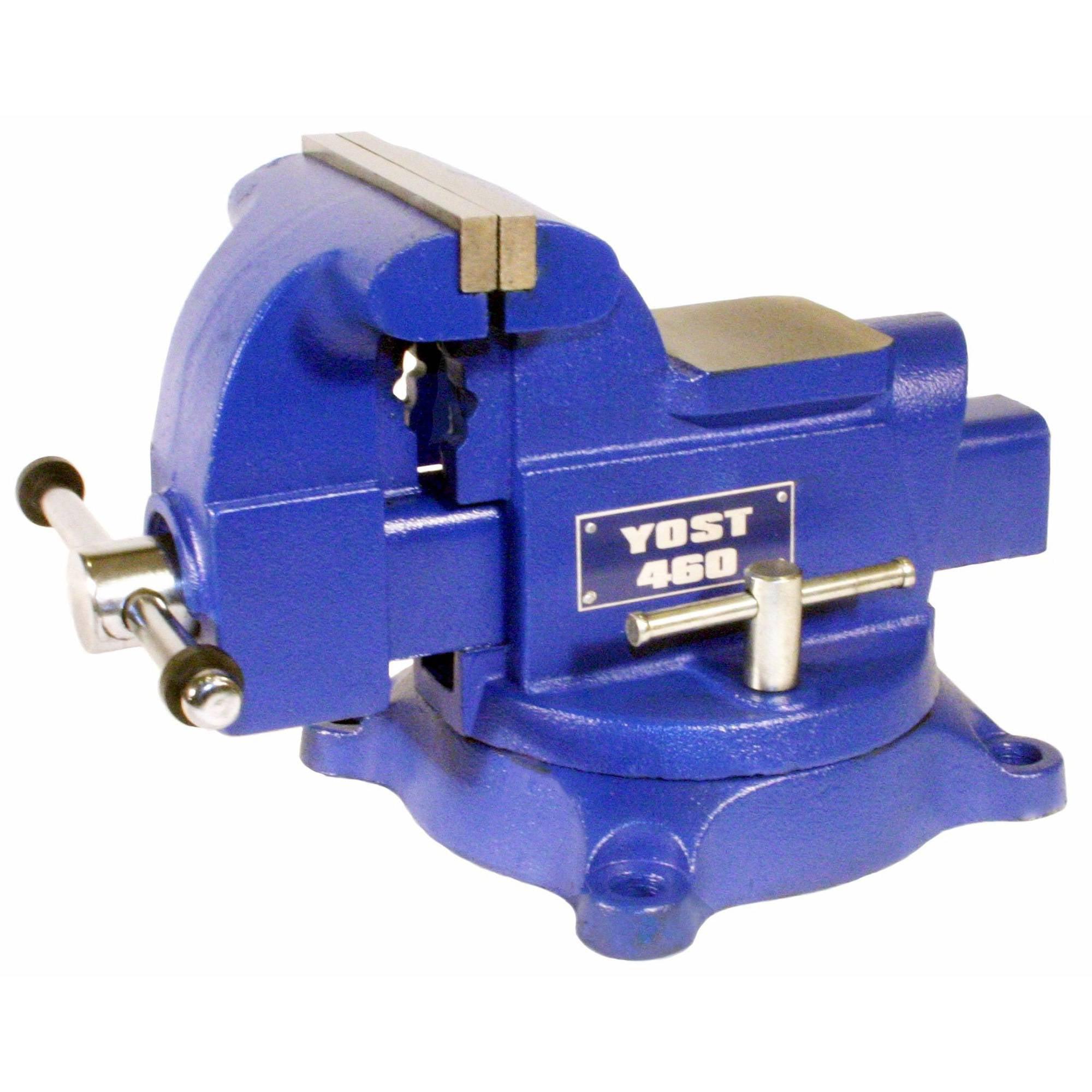 "Yost 6"" Utility Vise, Model 460 Apprentice Series Bench Vise by Yost Vises"